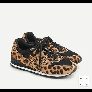 New Balance® X J.Crew 996 sneakers in leopard